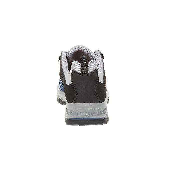 Kožené Outdoor topánky, modrá, 543-9208 - 17