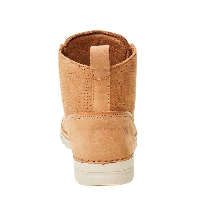 Kožené členkové topánky weinbrenner, hnedá, 594-3531 - 17