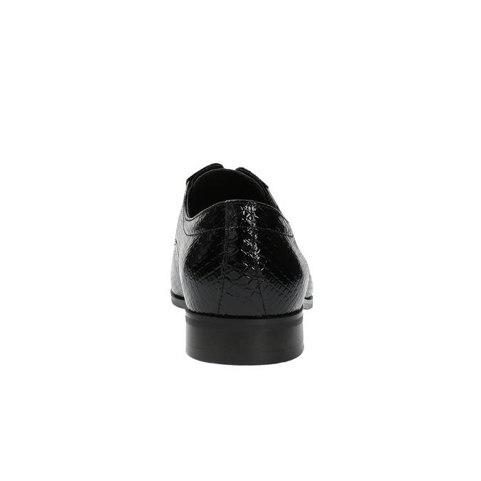 Poltopánky v imitácii z krokodílej kože conhpol, čierna, 828-6600 - 17