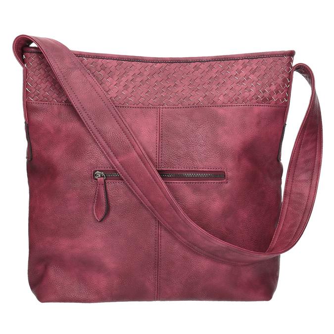 Vínová kabelka s dlhým uchom bata, ružová, 961-5600 - 26