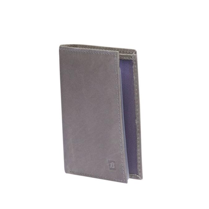 Kožené púzdro na karty bata, šedá, 944-2158 - 13