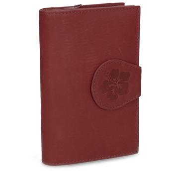Dámska kožená peňaženka bata, červená, 944-5155 - 13