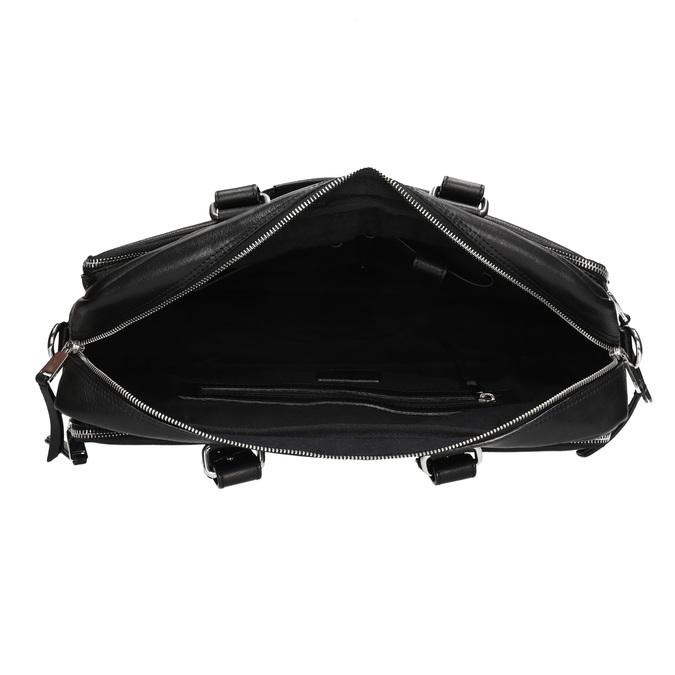 Seymur - aktovka bata, čierna, 964-6106 - 15