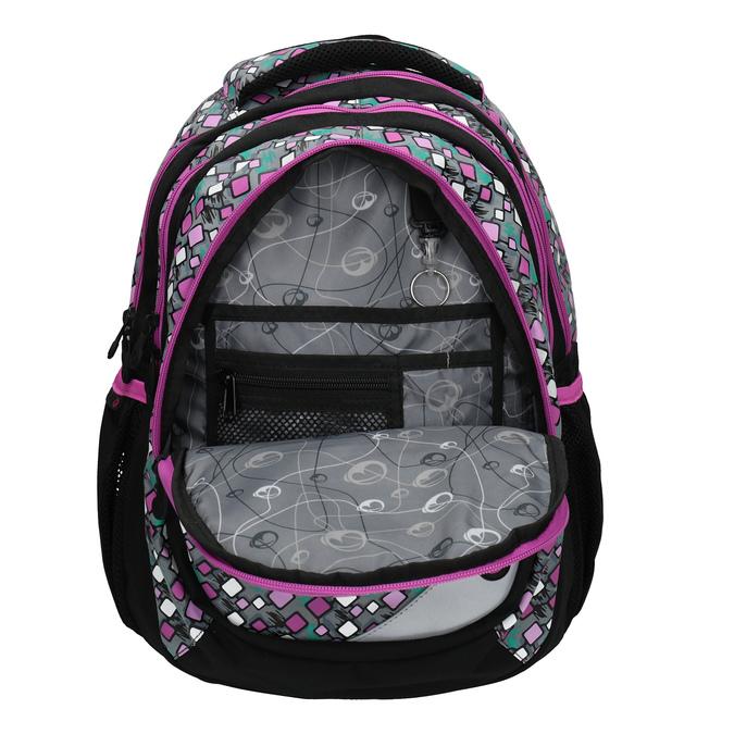 Detský školský batoh bagmaster, ružová, 969-7603 - 15