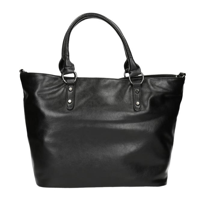 Čierna dámska kabelka bata, čierna, 961-6857 - 19