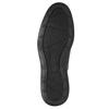 Pánske kožené poltopánky rockport, čierna, 824-6112 - 26