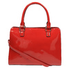 Lesklá červená kabelka bata, červená, 961-5610 - 26