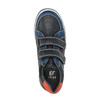 Modré detské tenisky na suchý zips mini-b, modrá, 411-9601 - 19