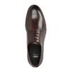 Kožené hnedé poltopánky bata, hnedá, 824-4684 - 19