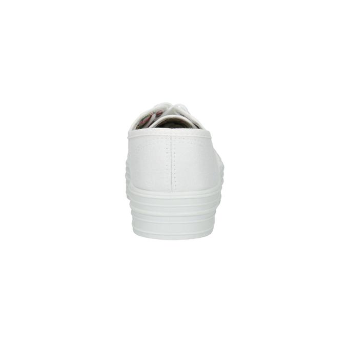 Biele dámske tenisky bata, biela, 529-1630 - 17