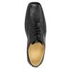 Pánske kožené poltopánky comfit, čierna, 824-6714 - 19