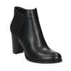 Členkové čižmy na podpätku bata, čierna, 791-6603 - 13