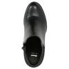 Členkové čižmy na podpätku bata, čierna, 791-6603 - 26