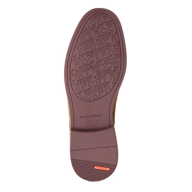 Pánske poltopánky z brúsenej kože rockport, hnedá, 823-3006 - 26