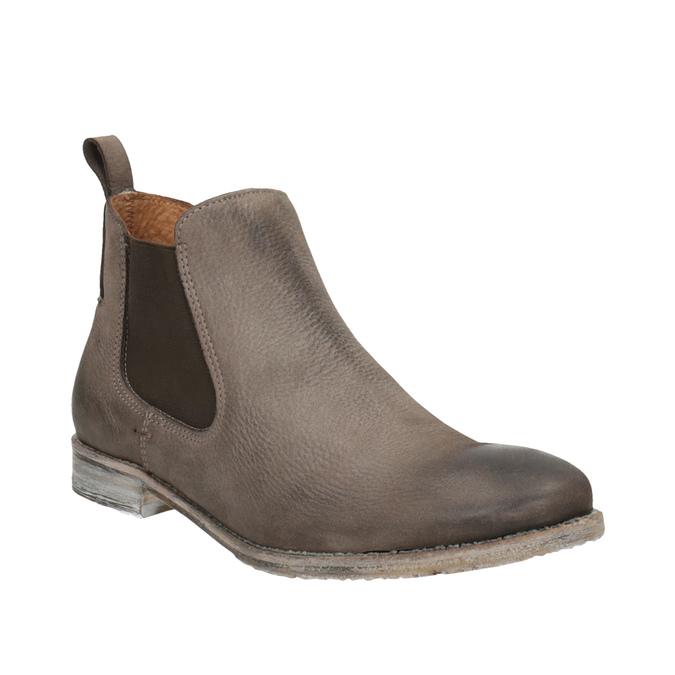 Kožené Chelsea Boots bata, hnedá, 596-4641 - 13