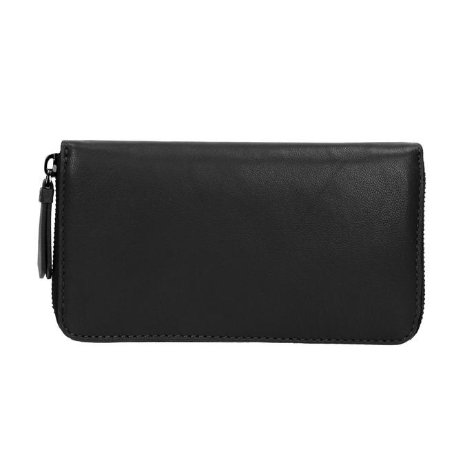 Dámská kožená peňaženka čierna bata, čierna, 944-6165 - 26
