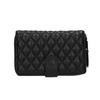 Dámska prešívaná peňaženka bata, čierna, 941-6135 - 26