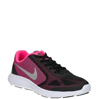 Dievčenské tenisky Nike nike, čierna, 409-6322 - 13