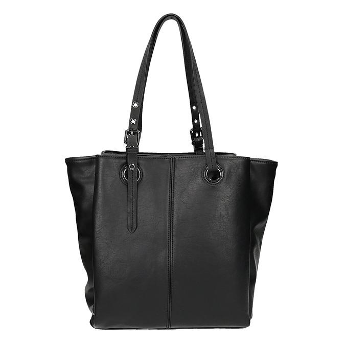 Kabelka v štýle Tote Bag bata, čierna, 961-6123 - 26