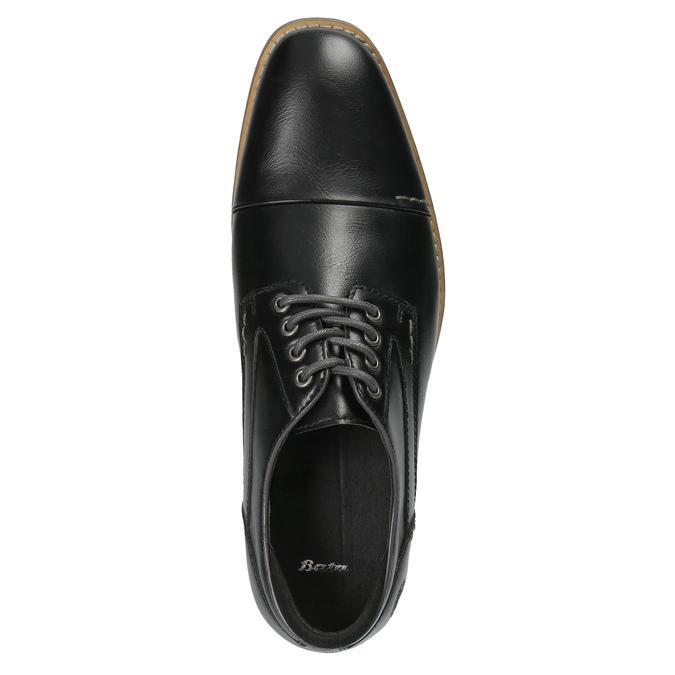 Pánske ležérne poltopánky bata, čierna, 821-6600 - 19