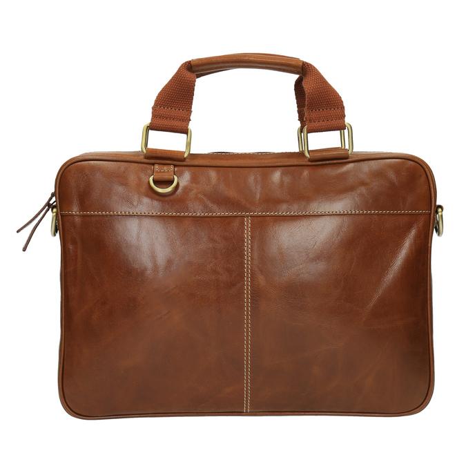 Pánska kožená brašna hnedá bata, hnedá, 964-3204 - 19