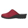 Dámska domáca obuv s plnou špicou bata, červená, 579-5602 - 26