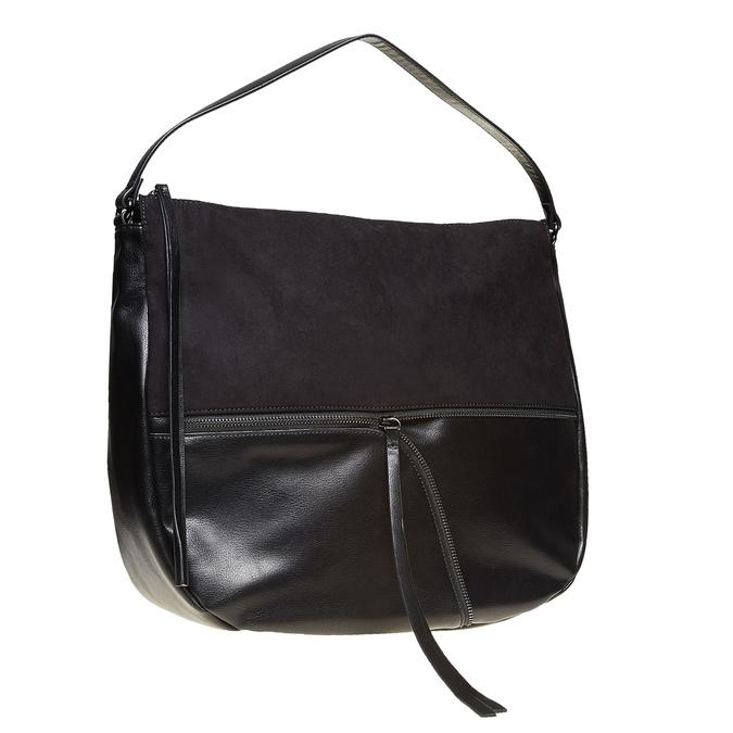 Dámska čierna kabelka bata, čierna, 969-6460 - 13