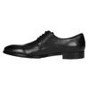 Čierne kožené poltopánky bata, čierna, 824-6732 - 26