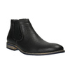 Pánske čierne Chelsea Boots bata, čierna, 891-6601 - 13