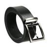Kožený pánsky opasok bata, čierna, 954-6129 - 13