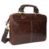 Pánska kožená brašna bata, hnedá, 964-4204 - 13