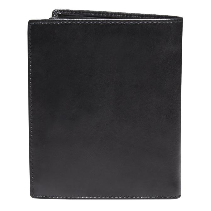 Kožená pánska peňaženka bata, čierna, 944-6121 - 26