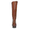 Kožené dámske čižmy bata, hnedá, 596-4608 - 17