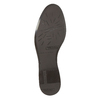 Hnedé kožené čižmy ku kolenám bata, hnedá, 594-4605 - 26