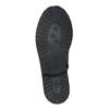 Kožené detské čižmy mini-b, čierna, 394-6191 - 26