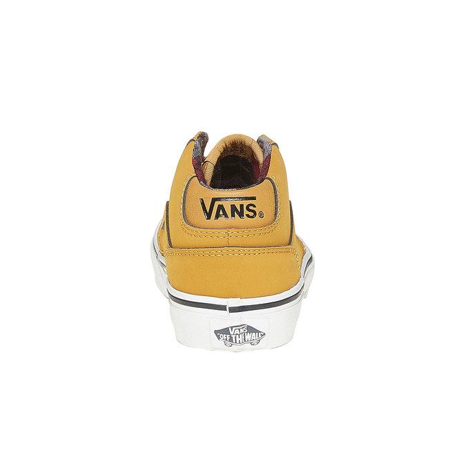 Detské tenisky Vans vans, žltá, 401-8235 - 17
