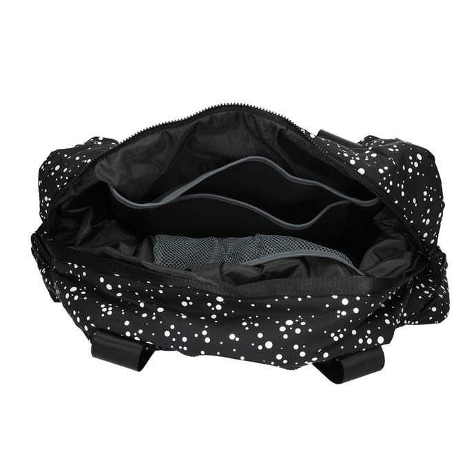 Cestovná taška s bodkovaným vzorom bjorn-borg, čierna, 969-6013 - 15