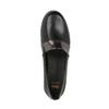 Dámske kožené Slip-on čierne flexible, čierna, 514-6252 - 19