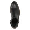 Kožená členková obuv pánska bata, čierna, 894-6660 - 19