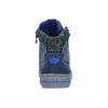 Detská členková obuv so zateplením mini-b, modrá, 491-9651 - 17