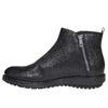 Kožená členková obuv flexible, čierna, 594-6227 - 19