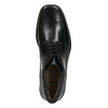Kožená členková obuv so zateplením bata, čierna, 894-6640 - 26