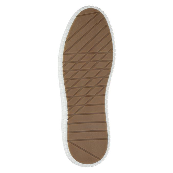 Pánske členkové tenisky bata, hnedá, 846-3615 - 26