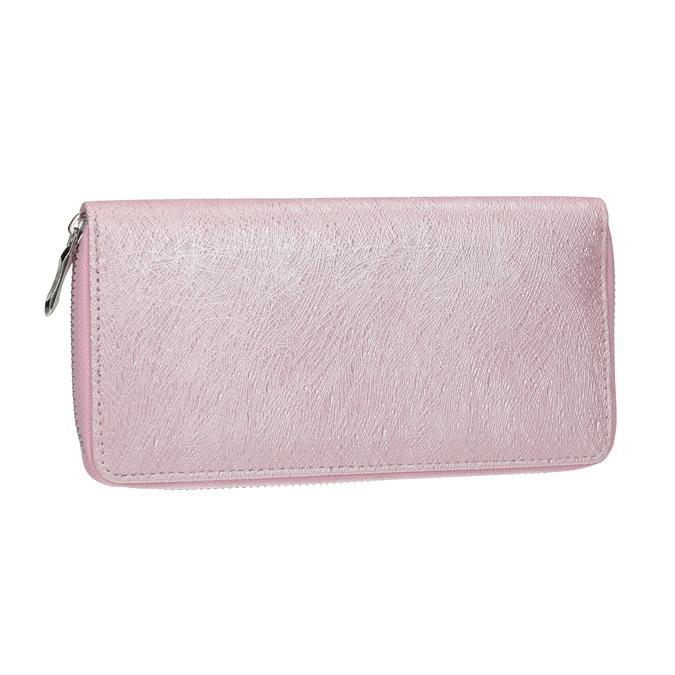 Elegantná dámska peňaženka bata, ružová, 941-5151 - 13