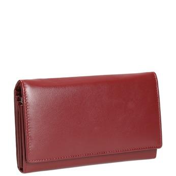Dámska kožená peňaženka bata, červená, 944-5357 - 13