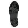 Kožená šnurovacia obuv na výraznej podrážke weinbrenner, čierna, 596-9635 - 26
