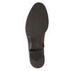 Dámske kožené čižmy bata, hnedá, 594-3586 - 26