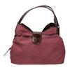 Vínová kabelka s lakovanými detailami bata, fialová, 969-5209 - 26