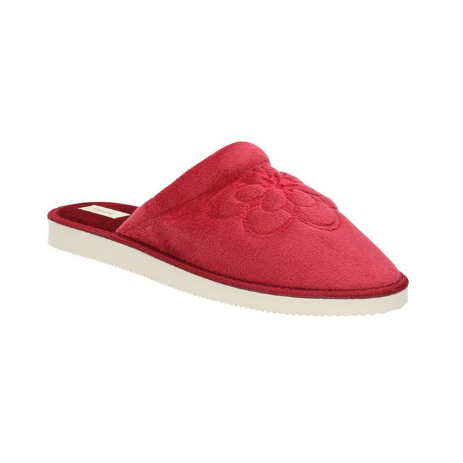 Domáca dámska obuv bata, červená, 579-5611 - 13