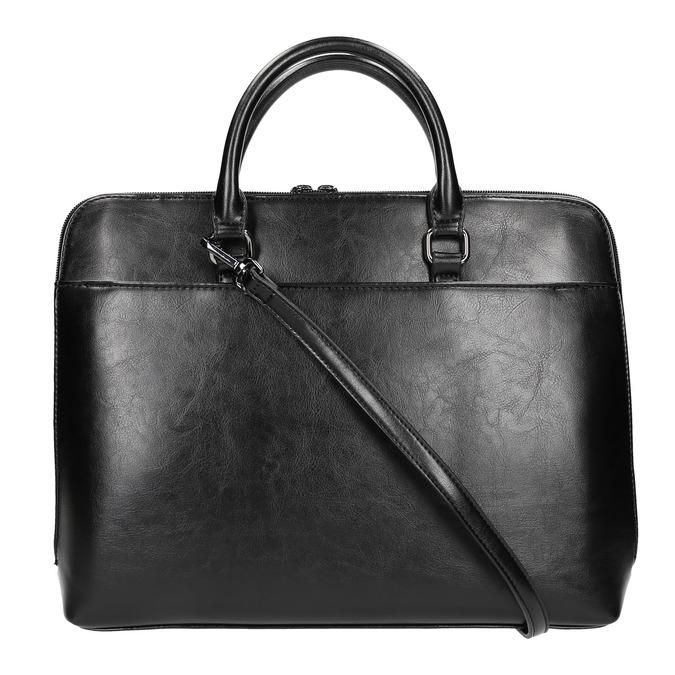 Elegantná taška do ruky bata, čierna, 961-6882 - 19